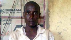 Mohammed Hayatu, suspected Boko Haram terrorist who claims to be Amina Ali's husband
