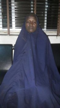 Second rescued Chibok schoolgirl, Serah Luka