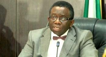 Health Minister, Prof. Isaac Adewole