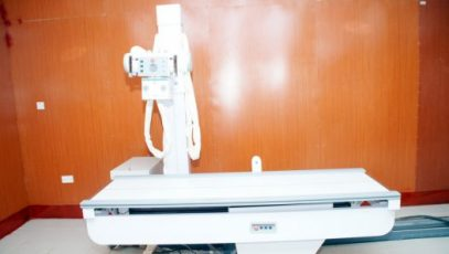 Mobile X-ray unit at the Ilorin General Hospital