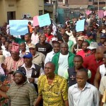 Fuel subsidy protest in 2012