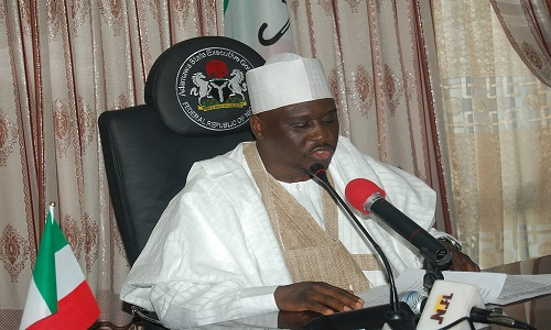 Mr Fintiri defeated the incumbent governor, Jibrila Bindow, with a vote margin of 32, 476 votes.
