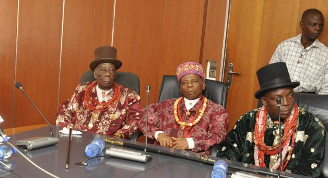 Image result for Navy takes Peace Campaign to traditional traditional rulers in Delta