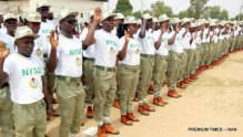 National Youth Service Corps (NYSC) members used to illustrate the story.