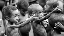 Malnourished children Photo: www.arabiangazette.com