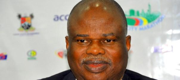 President of the Athletics Federation of Nigeria, Solomon Ogba