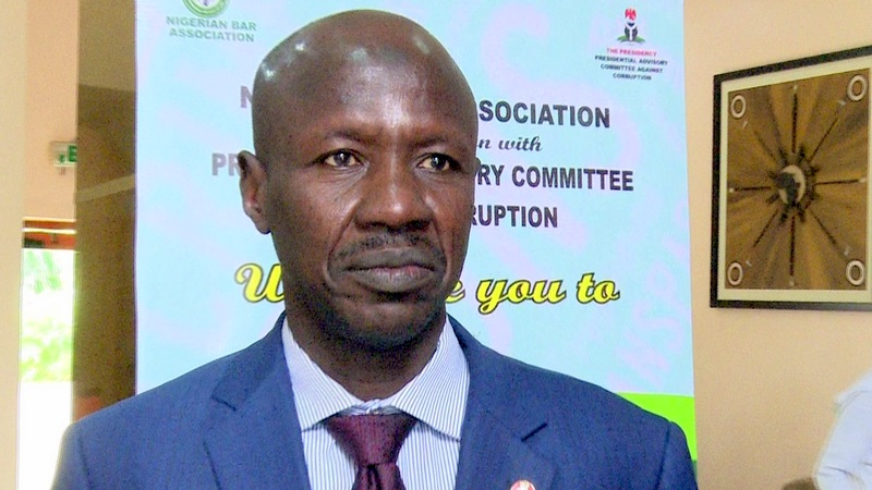 Image result for Fraudsters using my name to blackmail governors, ministers – EFCC chief Ibrahim Magu
