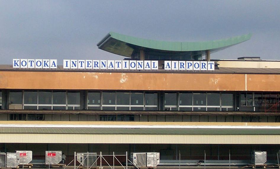 Kotoka International Airport, Accra Credit: citibusinessnews.com