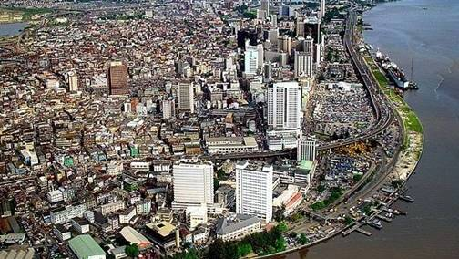 Lagos central business district