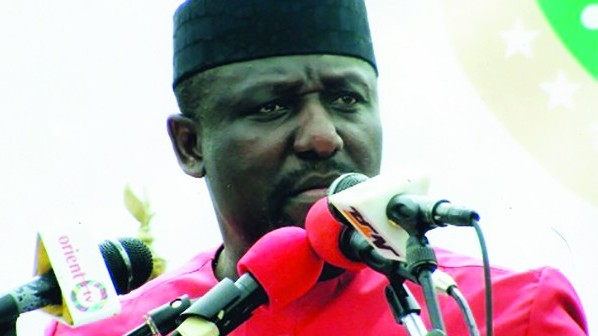 Image result for Okorocha speaking