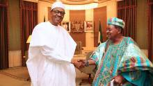 President Muhammadu Buhari and Alaafin of Oyo