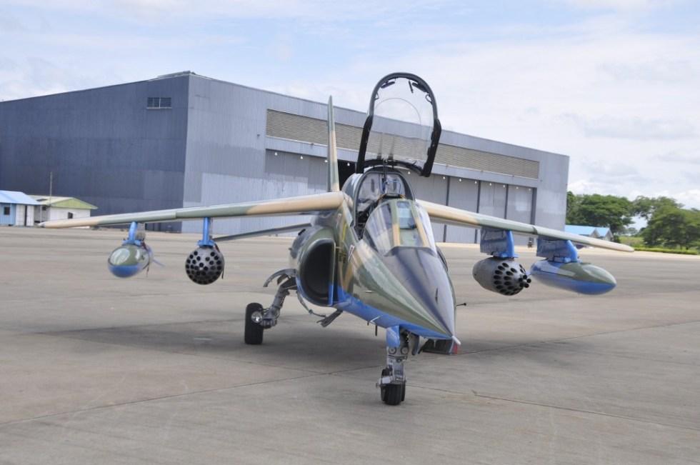 Weaponized-NAF-alpha-jet-after-arms-deli