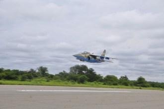 Newly weaponized NAF alpha jet