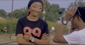 Rahama Sadau in ClassiQ's music video