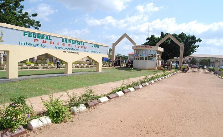 Main Entrance, Federal University Lafia (FUL). Photo: Premium Times
