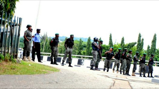 The #BringBackOurGirls group were stopped from entering the Presidential villa on the 25th of August