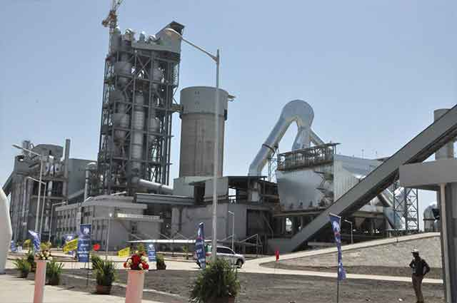 Dangote Cement Factory in Ethiopia [Photo credit: www.tigraionline.com]