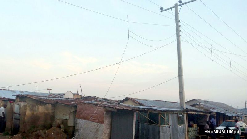 Photo credit:  Dakibiu, a poor community in Abuja, where the victim lived.