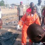 UPDATE: Nine dead as NEMA confirms suicide bomber had baby strapped on her back