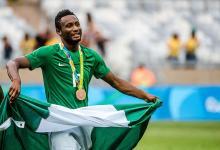 Nigerian Midfielder, Mikel Obi.