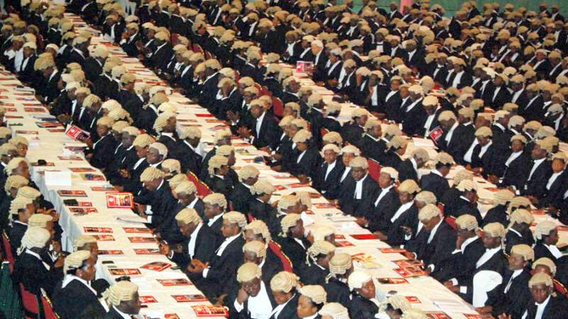 FILE PHOTO: Newly call to bar lawyers