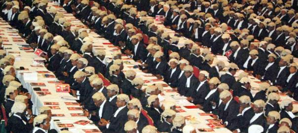 FILE PHOTO: Photo of Nigerian Lawyers used to illustrate the story