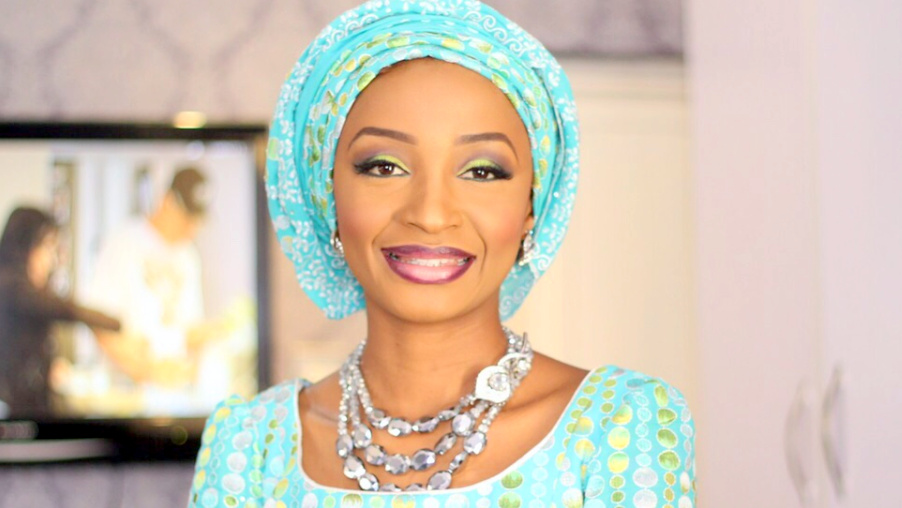 Image result for pictures of hausa actors Ummi ZeeZee and Zaharaddeen Sani