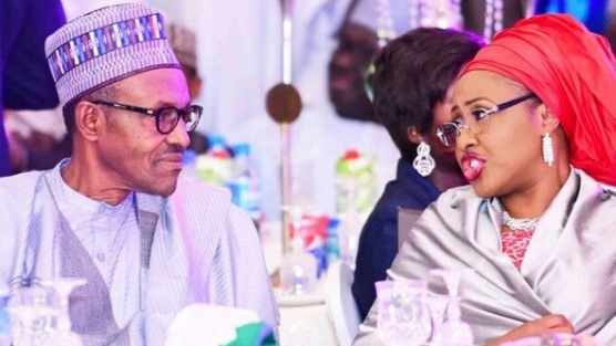 Image result for buhari and wife