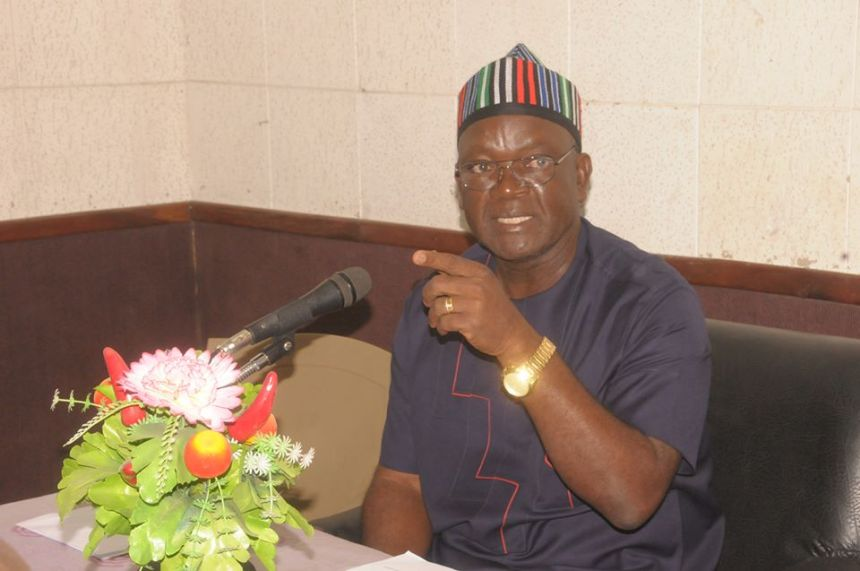 Benue Governor, Samuel Ortom [Photo credit: www.linknaija.com]