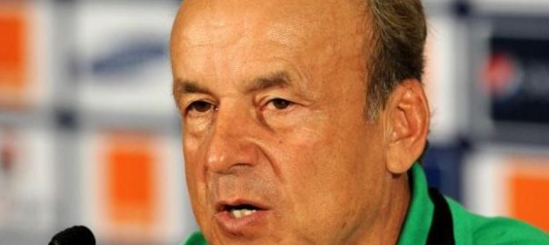Super Eagles Technical Adviser, Genort Rohr.