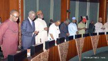 Pic.12. A crosuncil Meeting at the Presidential Villa in Abuja on Wednesday (2/11/16) . 8157/2/11/2016/Callistus Ewelike/BJO/NAN57/2/11/2016/Callistus Ewelike/BJO/NAN