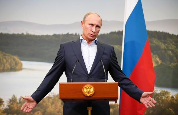 Vladimir Putin, Russian President  Photo Credit: Slate