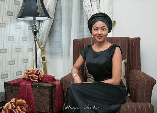 A daughter of President Muhammadu Buhari, Zahra