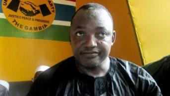 Gambia President-elect, Adama Barrow