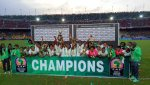 Super Falcons winning the last AWCON tournament