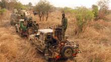Nigerian Army in Sambisa Forest