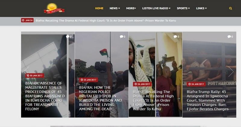 Biafra Times Website