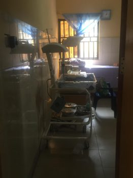 Renovated primary health care center Abuja