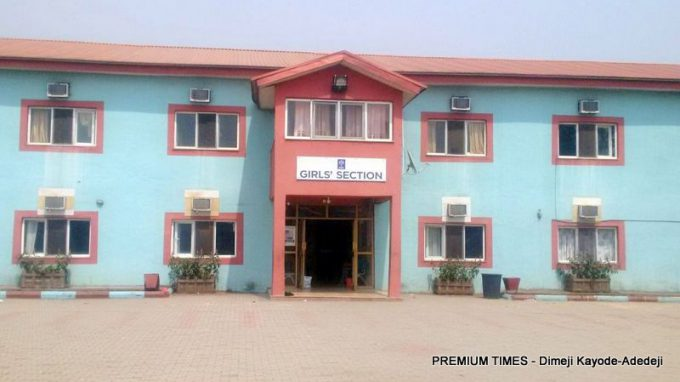 Female hostel of the Nigerian Turkish School, Isheri, Ogun State.