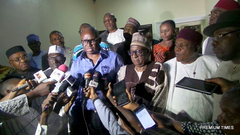 Ayodele Fayose, Chairman, PDP Governors Forum