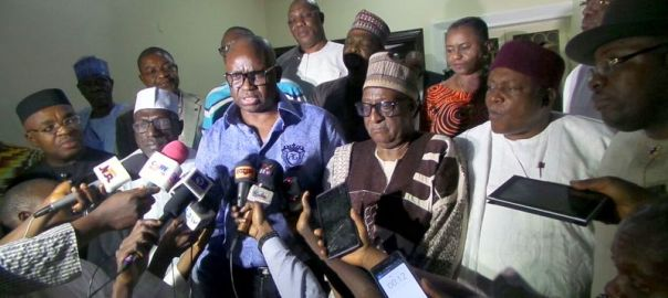 Ayodele Fayose elected as Chairman, PDP Governors Forum