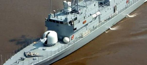 Nigerian Warship (Photo:THISDAYLIVE)