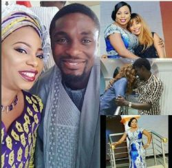 Niyi and Seyi Edun pictured with the prophetess