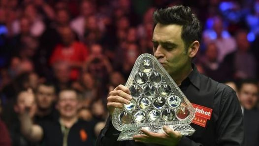 Ronnie O'Sullivan [Photo Credit: EuroSport]