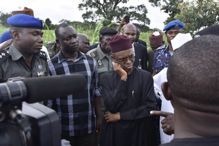 Gov. El Rufai in Southern Kaduna (Photo Credit: Governor's Office, Kaduna)