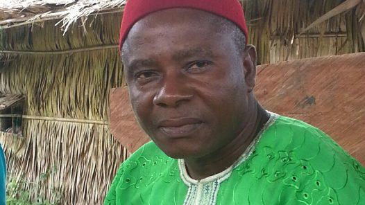 Edwin Ukorem, village head, Edonwik, Eastern Obolo, Akwa Ibom State