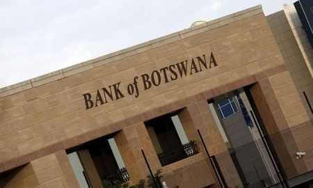 File photo of building of the Bank of Botswana in the capital Gaborone in Botswana [Photo Credit: News - Yahoo]