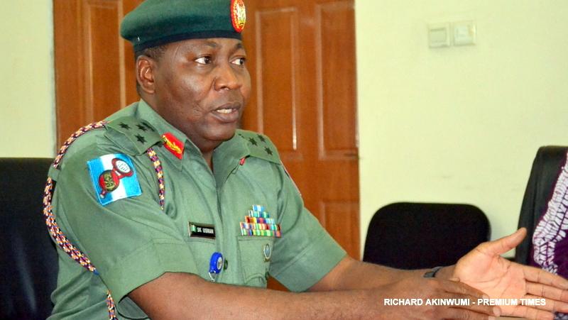 Army Spokesperson, Brigadier-General Sani Usman