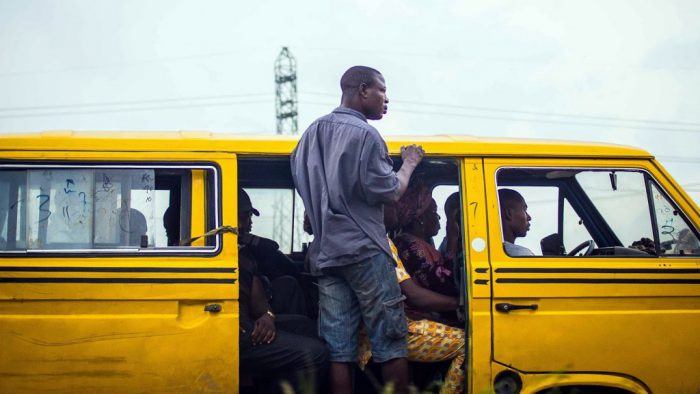 Lagos Danfo conductor [Photo Credit: TechCabal]