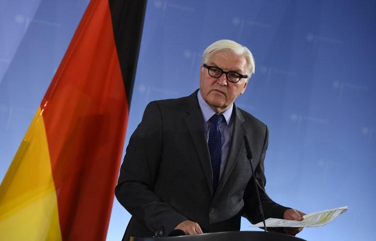 German Newly elected President, Frank-Walter Steinmeier AFP PHOTO / TOBIAS SCHWARZ
